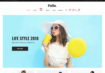 Folio - Fashion Store Prestashop Theme