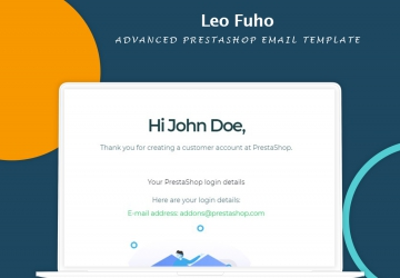 Leo Fuho- Advanced PrestaShop Email Template