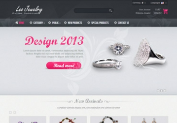 Leo Jewelry Prestashop Theme