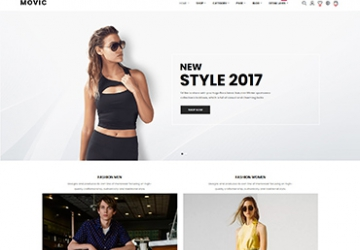 MOVIC - FASHION PRESTASHOP THEME