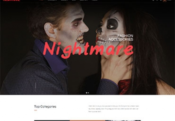 Leo Nightmare Prestashop Theme