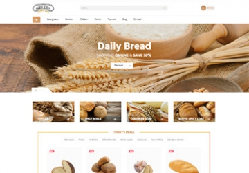 Leo Bread Prestashop Theme