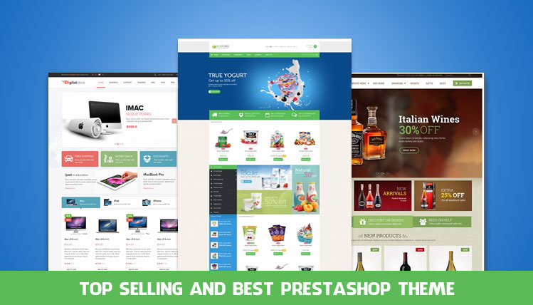 top selling and best prestashop theme