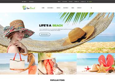 Leo Beach Prestashop Theme
