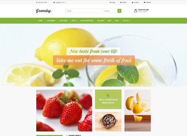 Leo Green Prestashop Theme