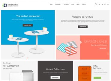 Leo Office Furniture Prestashop Theme