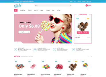 Leo Candy Prestashop Theme