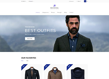 Leo Men Original  Prestashop Theme