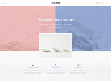Leo Mountain Prestashop Theme
