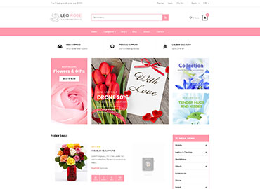 Leo Rose Prestashop Theme