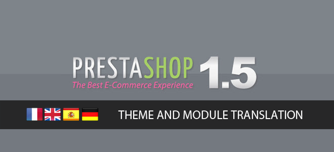 Prestashop Theme and Module translation