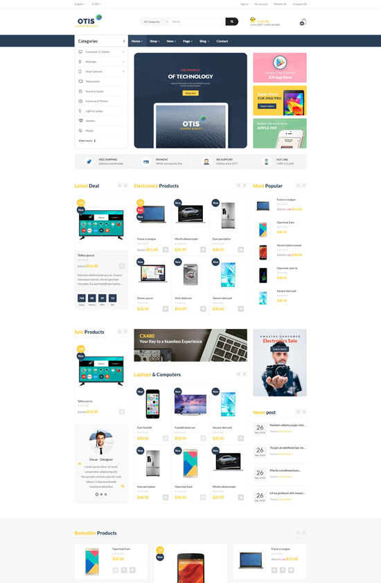 Leo Otis Prestashop Theme