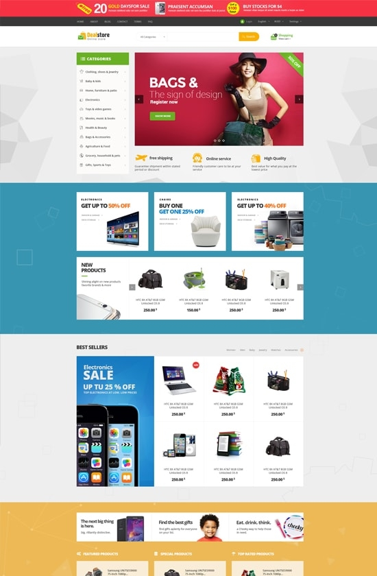 Leo Deal Store Prestashop Theme