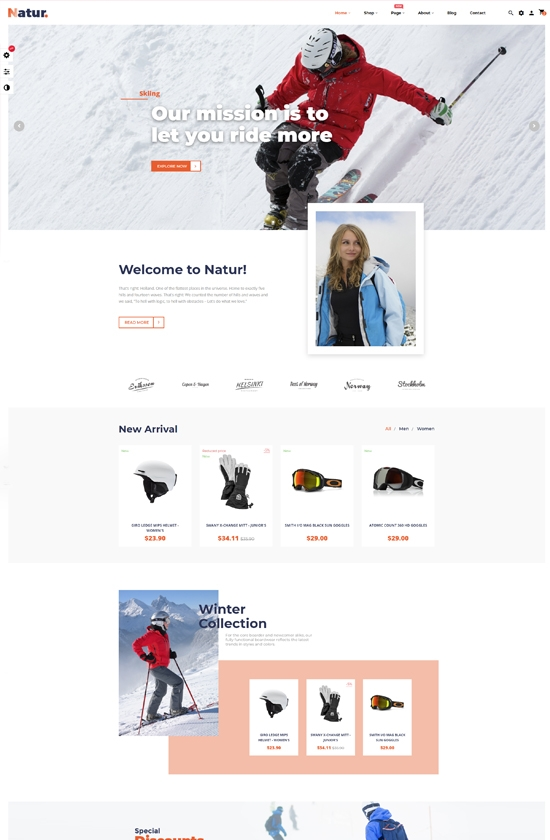 Leo Natur - Sports, Outdoors Gear and Fashion