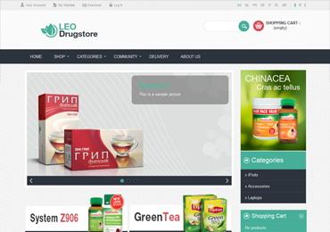 Leo Drug Store Prestashop Theme