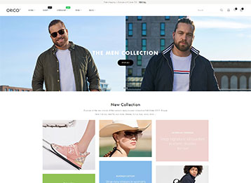 Orico - Unisex Fashion Prestashop Theme