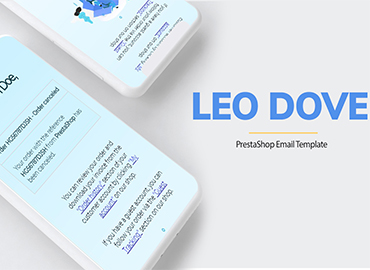 Leo Dove - Creative PrestaShop Email Template