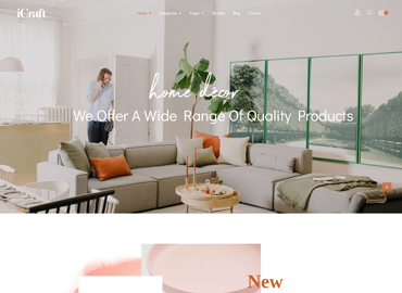 Leo ICraft PrestaShop Furniture Theme